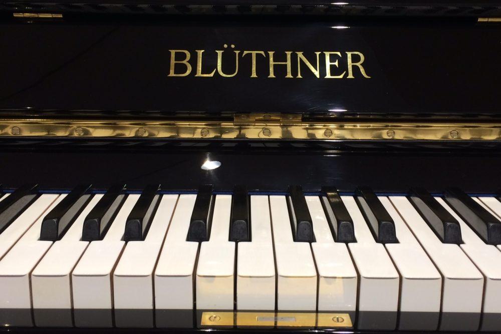 Blüthner Klavier Elfenbeintastatur