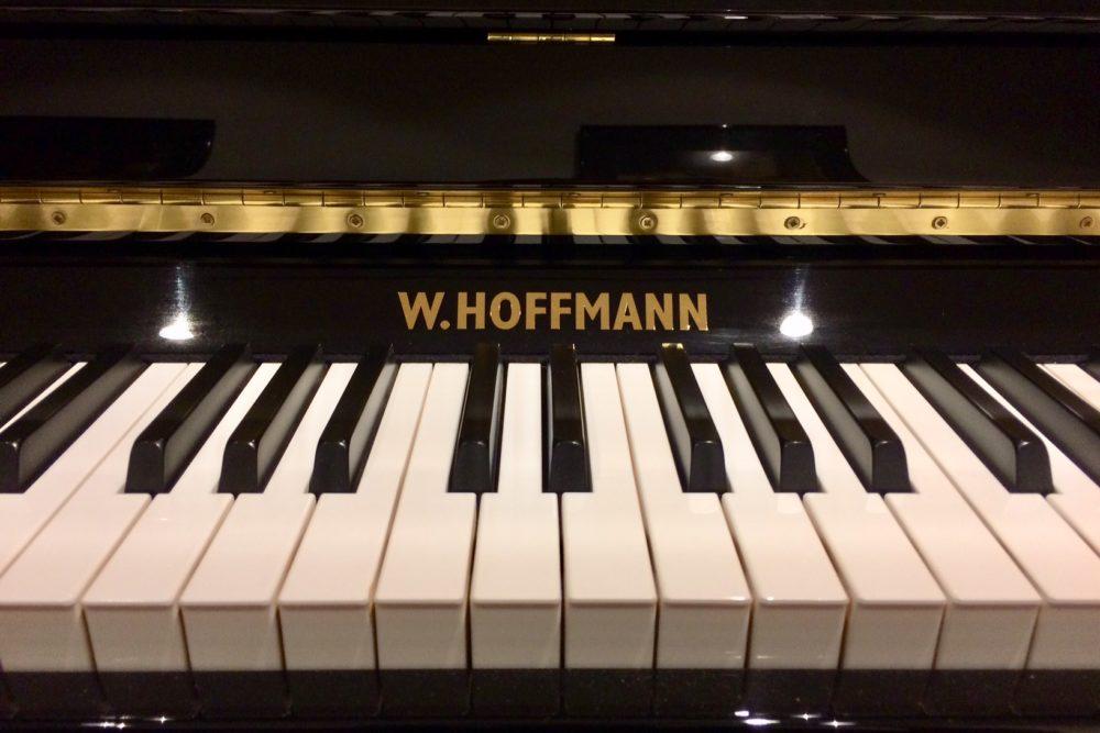 W. Hoffmann Klavier Tasten