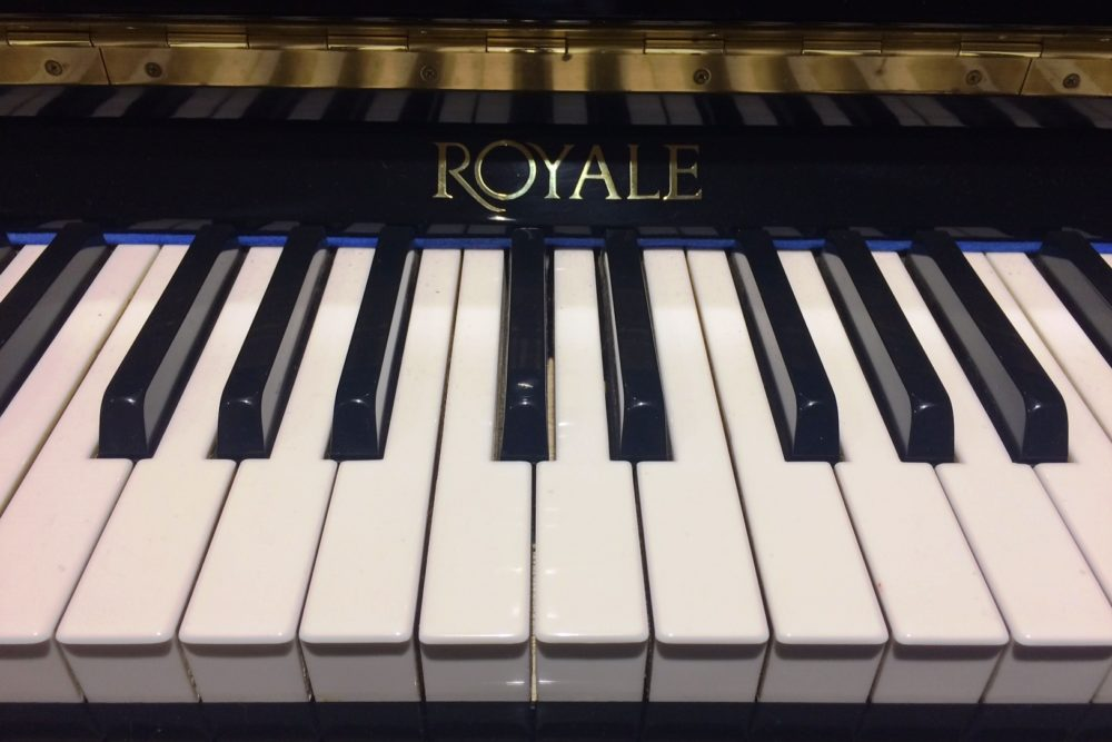 Royale Klavier Tasten