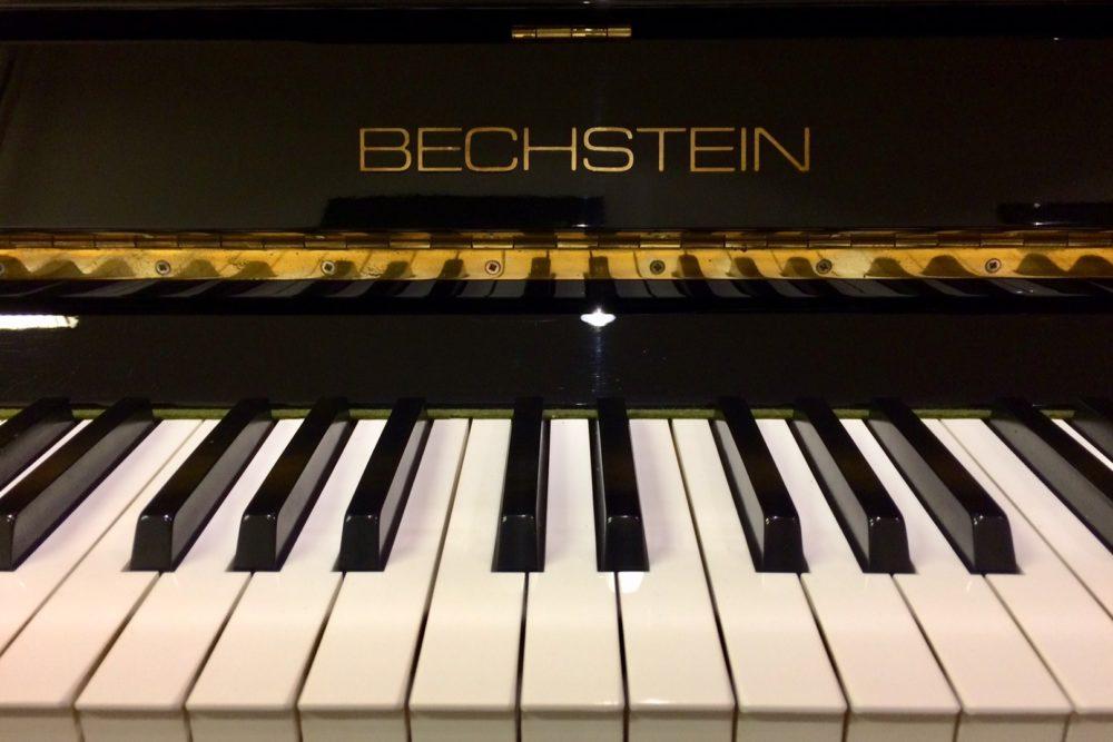 Bechstein Klavier Tastatur