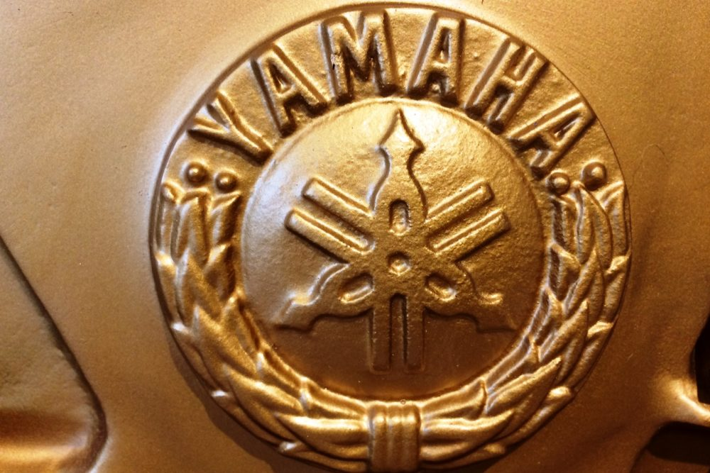 Yamaha U1 Piano Emblem