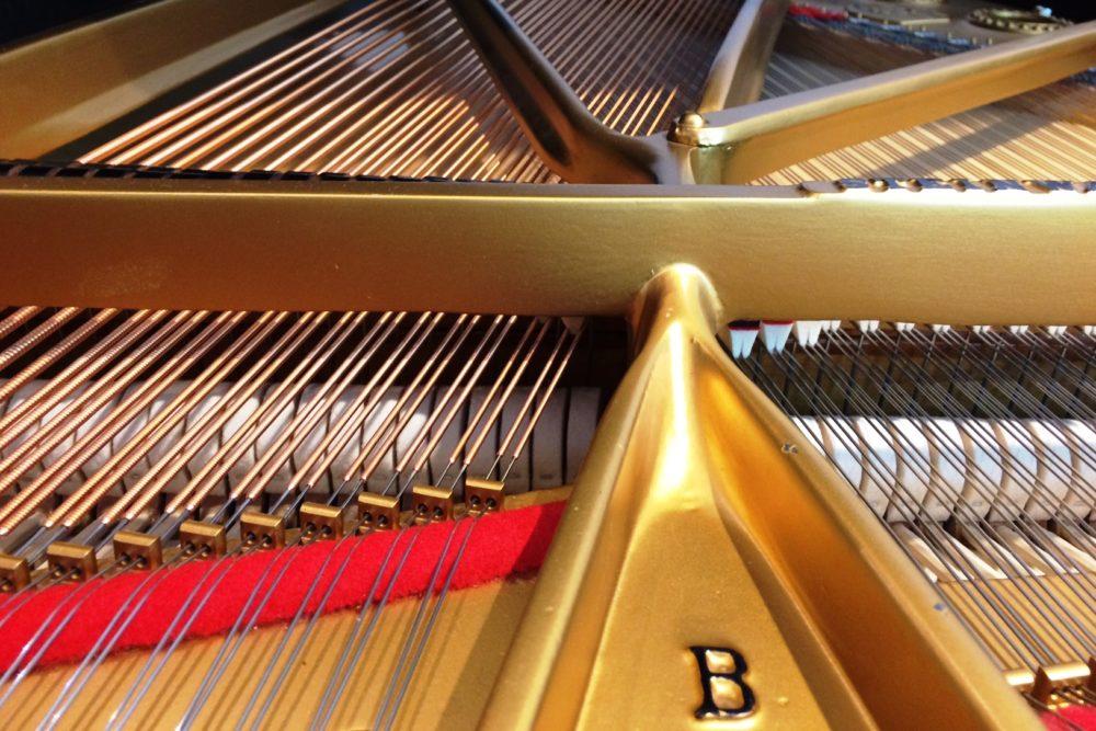 Steinway & Sons Flügel Mod. B 211 innen