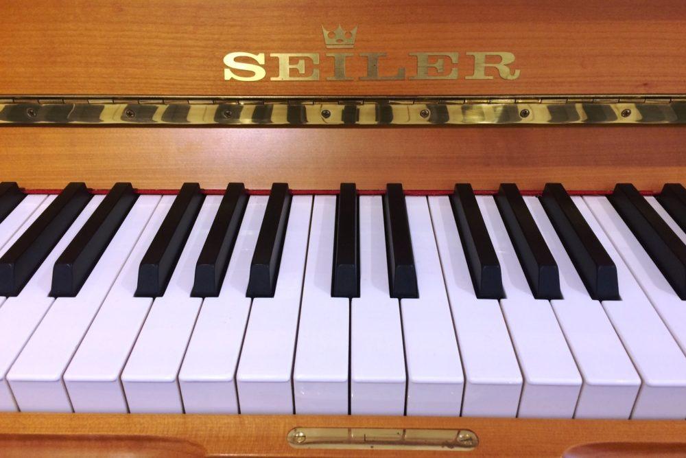 Ed. Seiler Klaviertasten