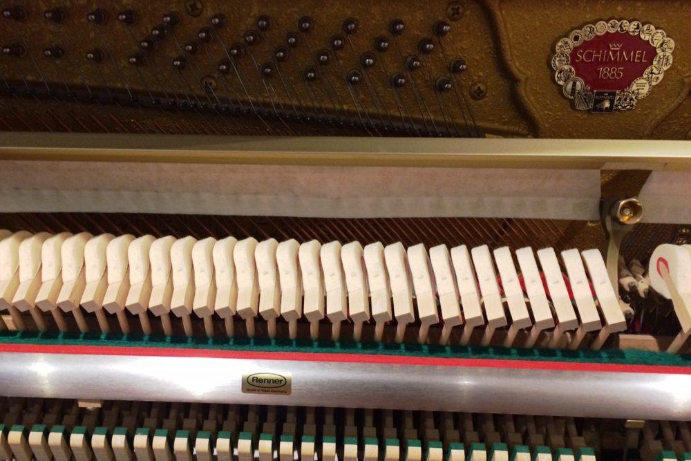 Schimmel Klavier Renner Mechanik