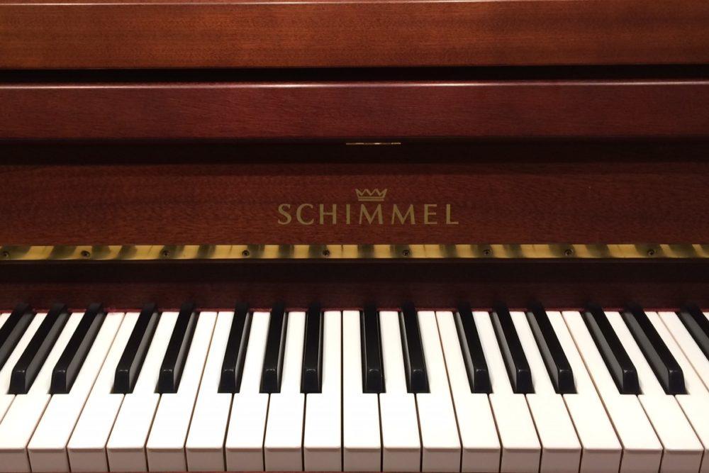 Schimmel Klaviertasten