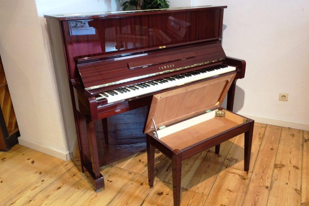 Yamaha U1 Klavier Mahagoni Hochglanz