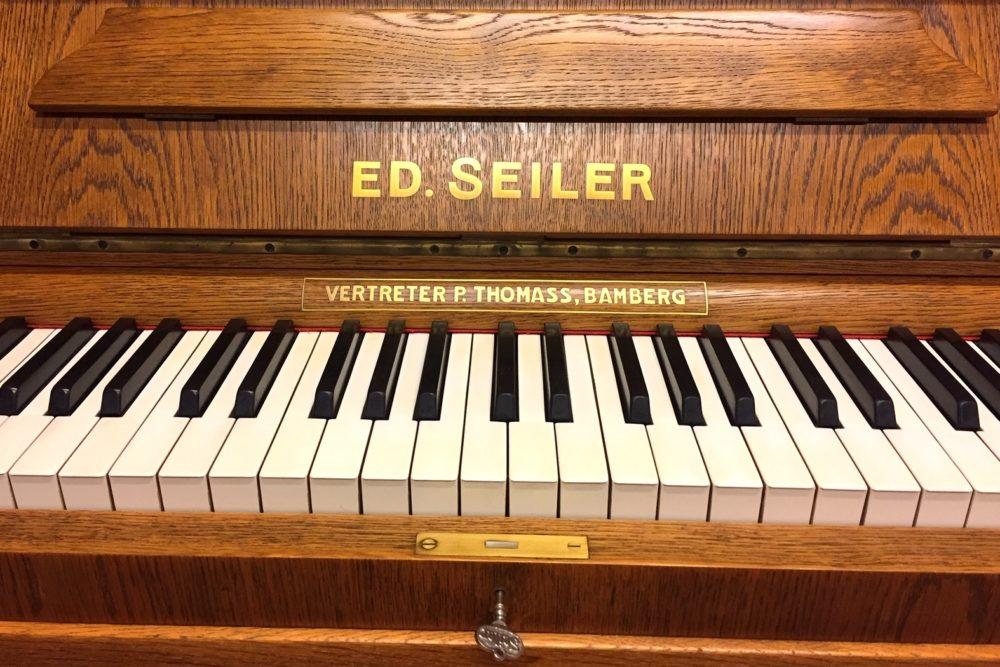 Ed Seiler Klavier Tasten