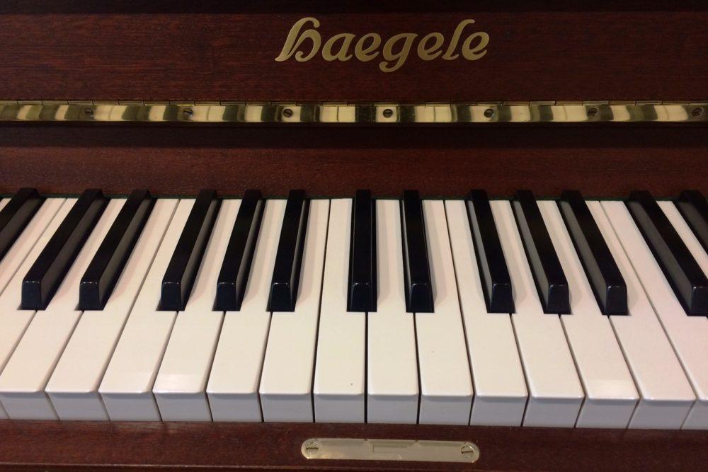 Haegele Klaviertasten
