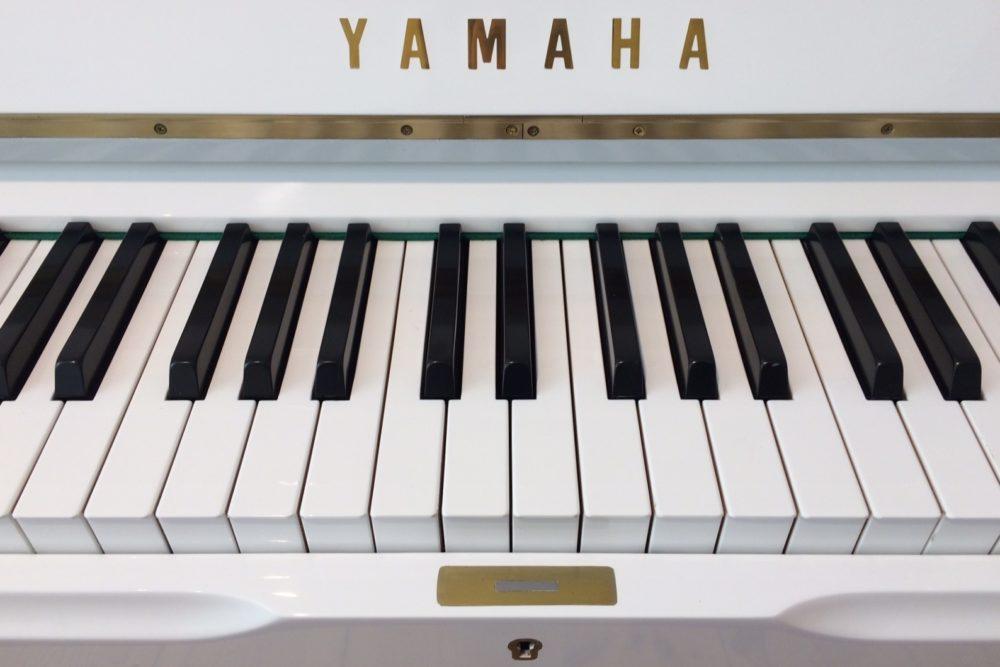 Yamaha U1 Klaviertasten
