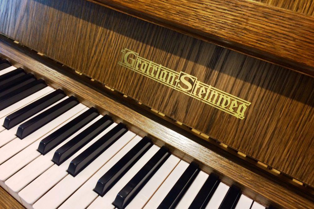 Grotrian Steinweg Klavier Tasten