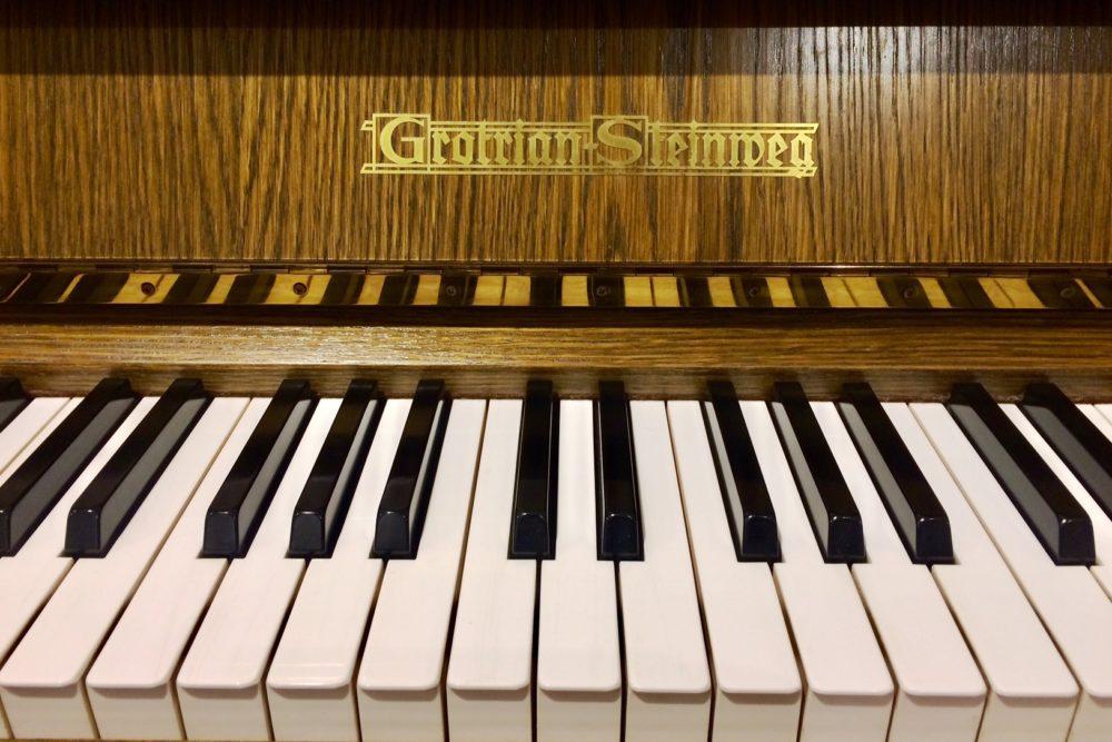 Grotrian Steinweg Klaviertasten