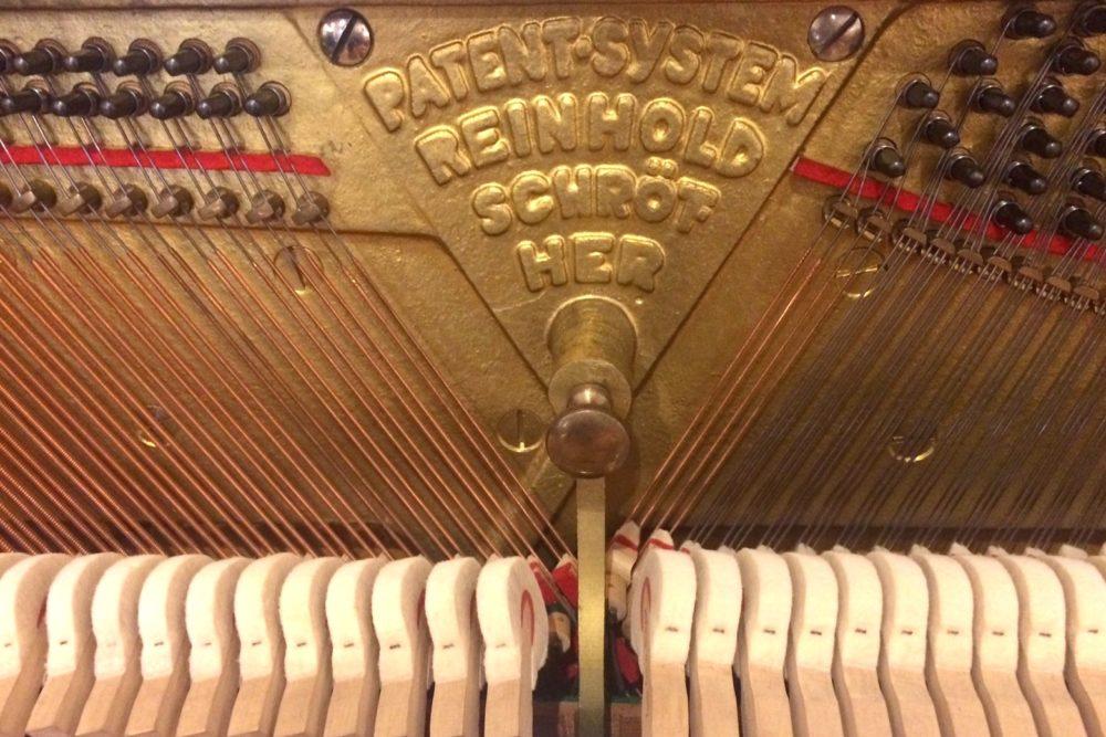 W. Biese Klavier Mechanik