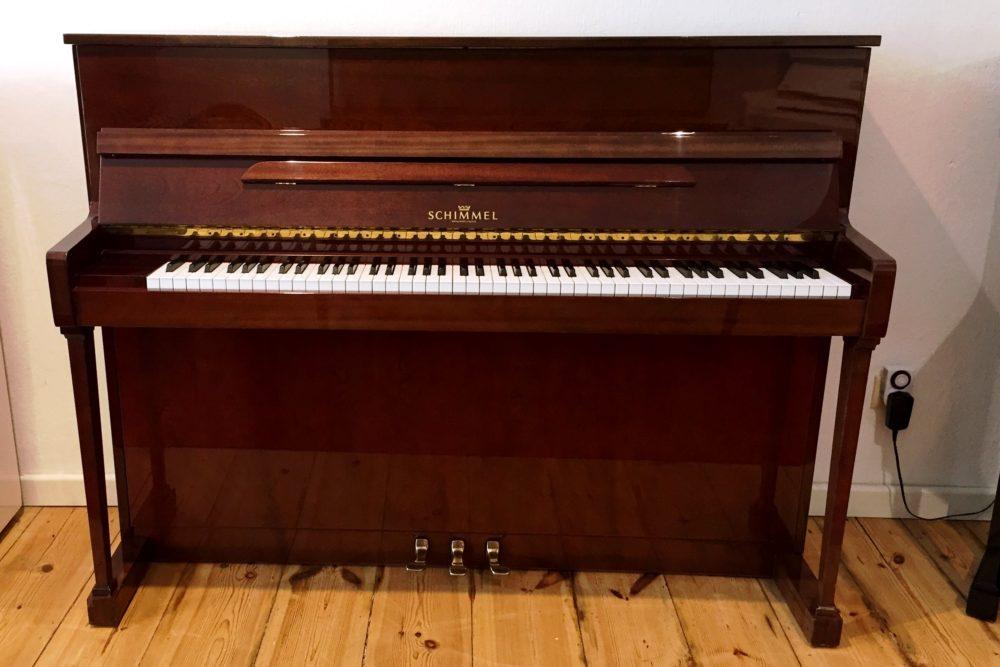 Schimmel Klavier Mod. 114 T Mahagoni-braun