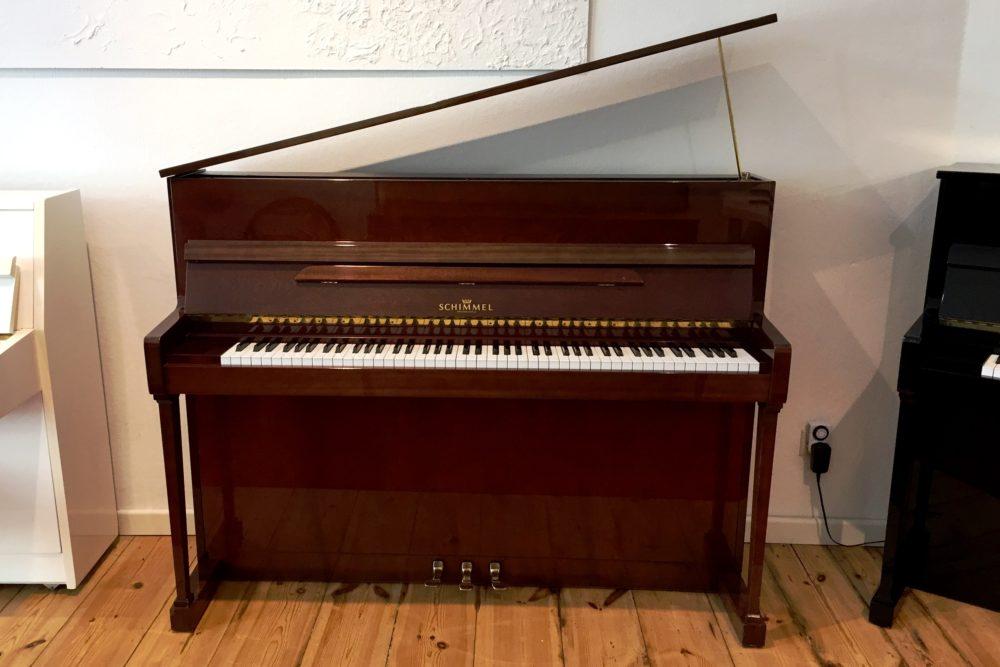 Schimmel Piano Mod. 114 T Mahagoni-braun