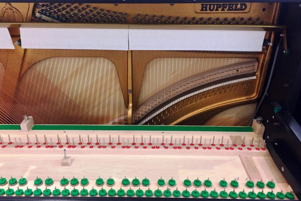 Hupfeld Klavier Tastenboden