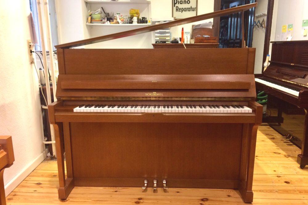 Schimmel Klavier C 120 T Nussbaum