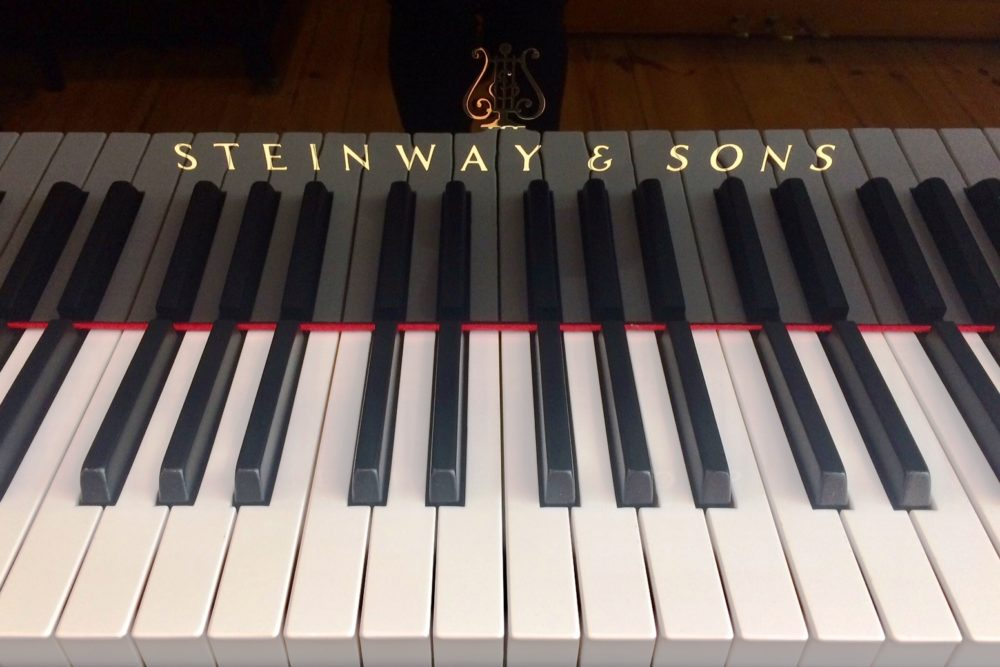 Steinway & Sons Flügel Tasten