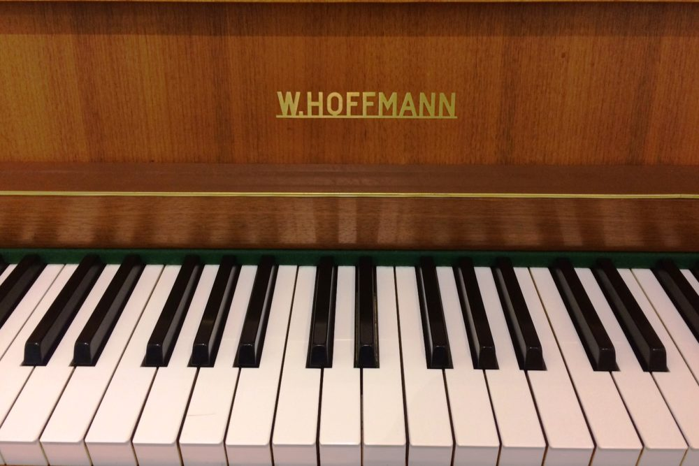 W. Hoffmann Piano Tasten