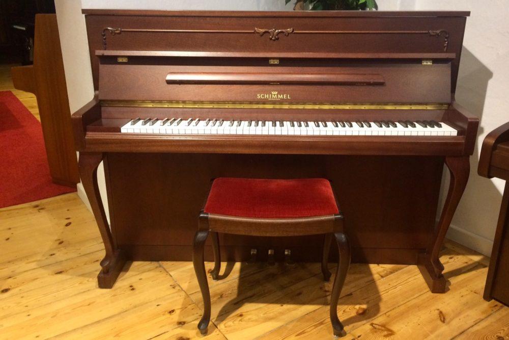 Schimmel Klavier 112 Chippendale