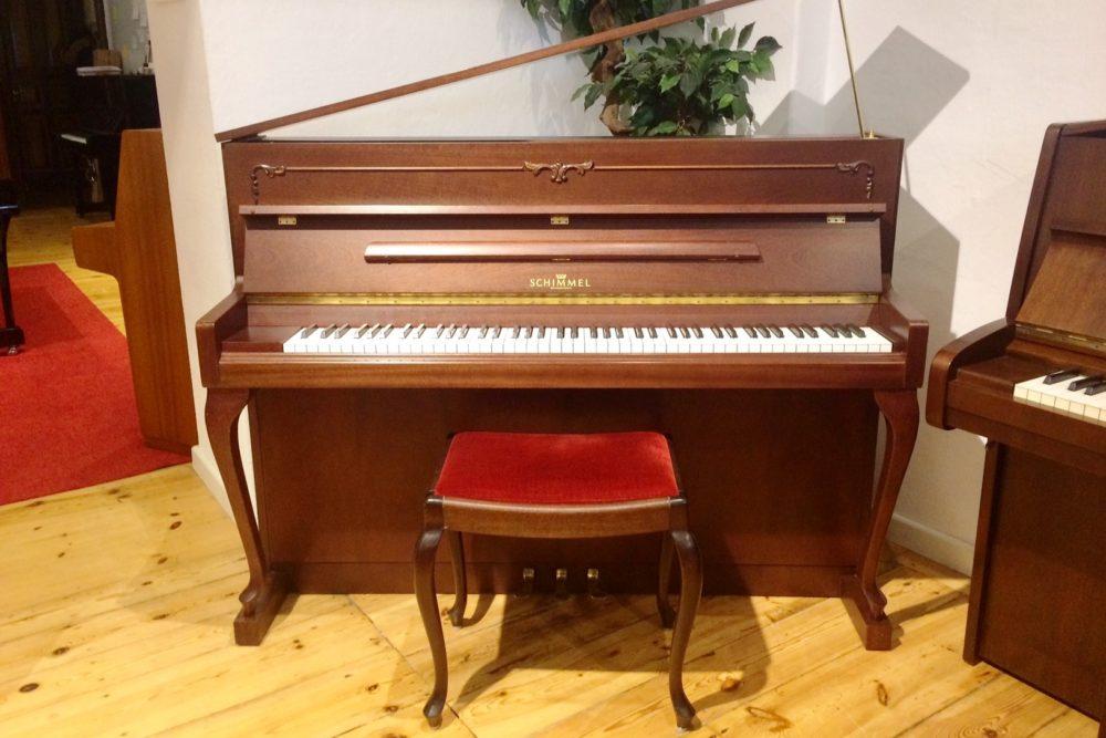 Schimmel Klavier Mahagoni satiniert