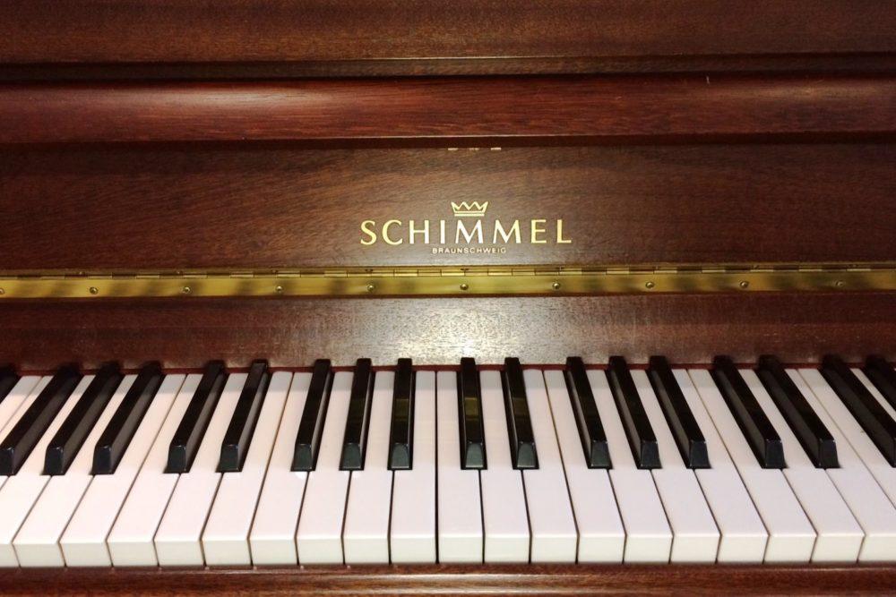 Schimmel Klavier Tasten