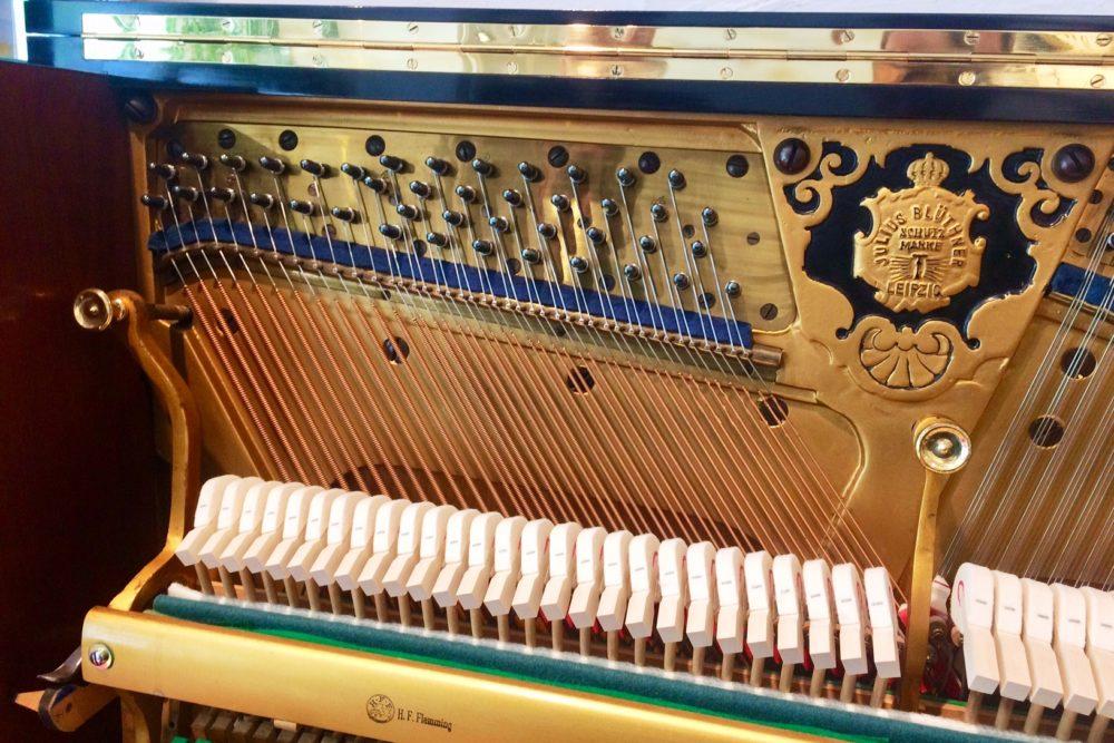 Blüthner Klavier Mechanik