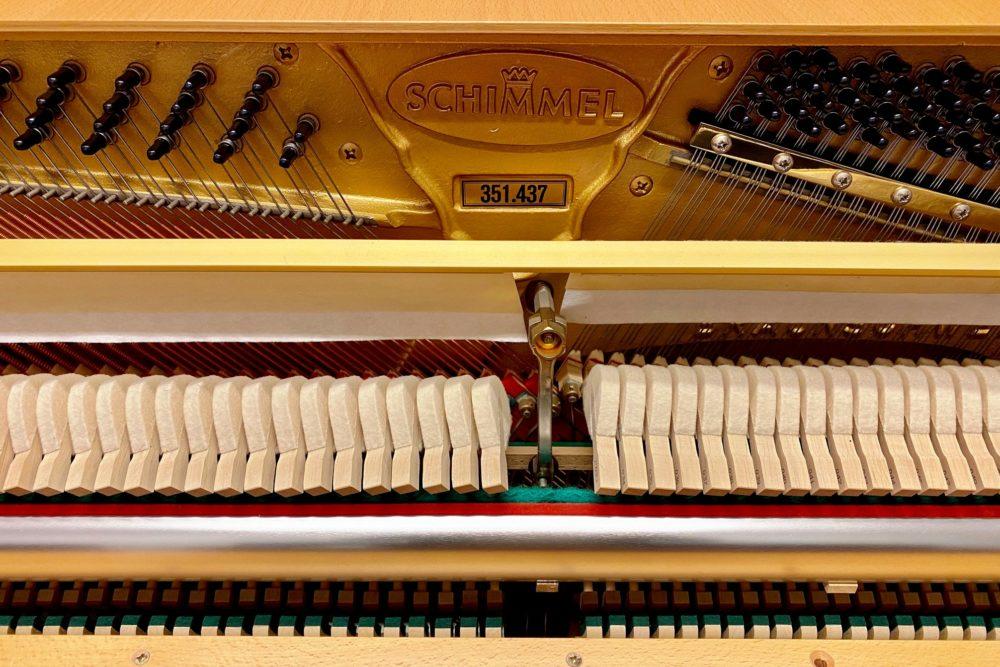 Schimmel Klavier Mechanik