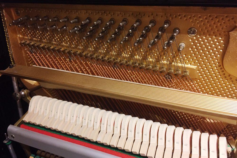 Petrof Klaviermechanik