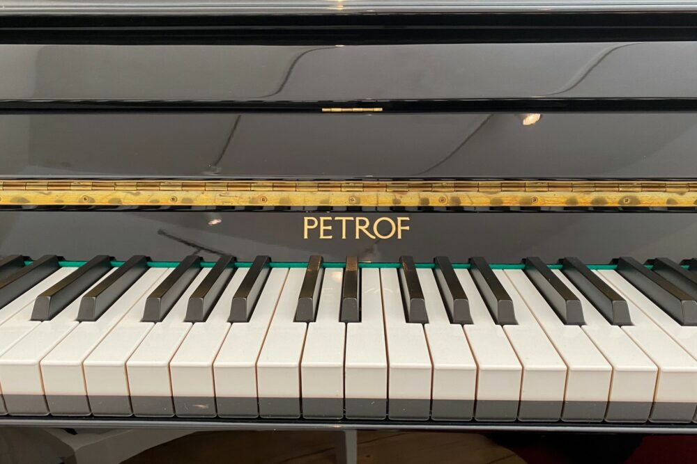 Petrof-Silentklaviertastatur