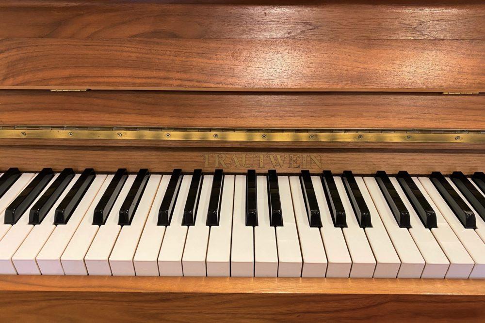 Trautwein Klaviertasten