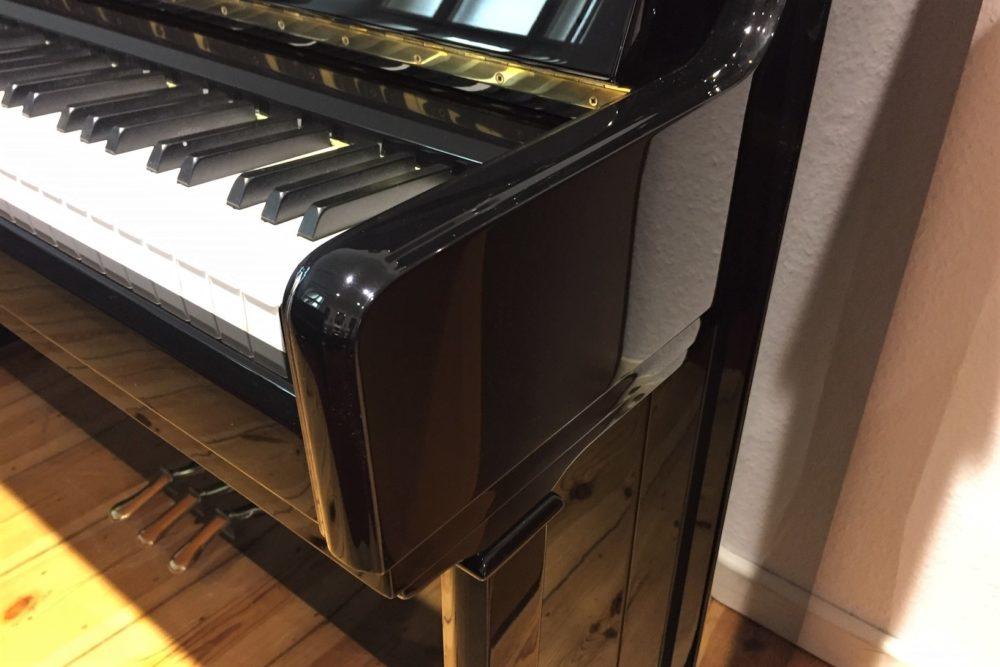 C. Bechstein Klavier Seite