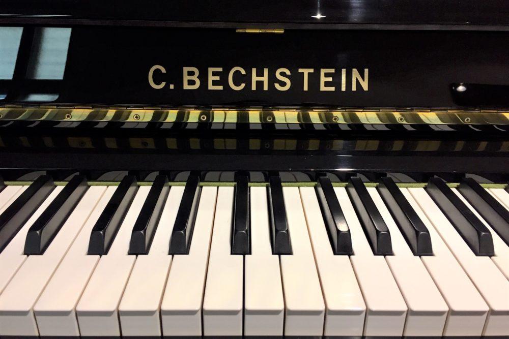 C. Bechstein Klaviertasten