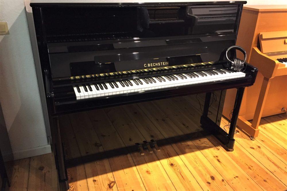 C. Bechstein Piano 124 Elegance