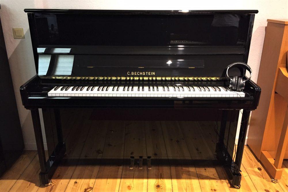 C. Bechstein Silent Klavier 124 Elegance