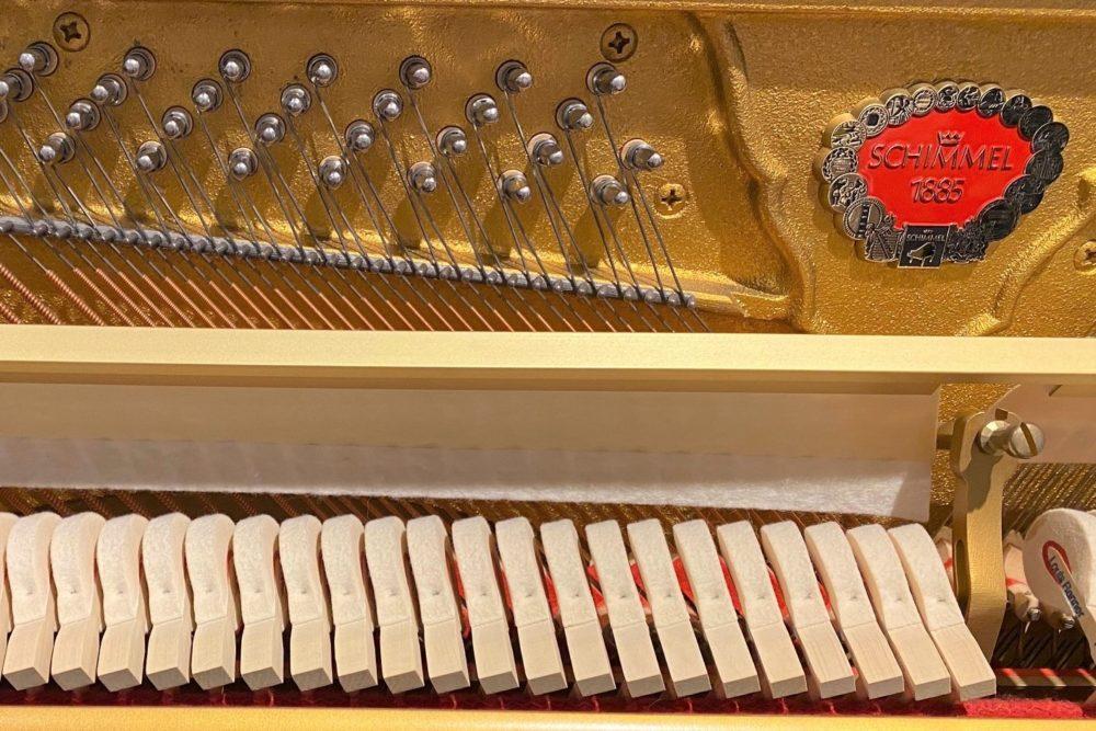 Schimmel Klavier 118 Renner Mechanik