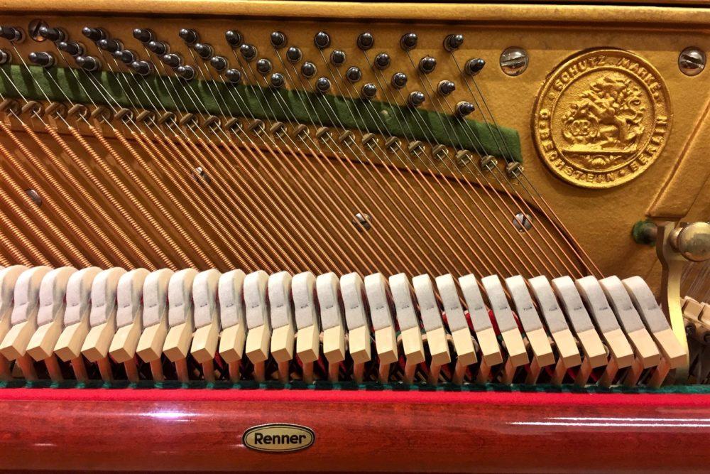 C.-Bechstein-Klavier-Rennermechanik