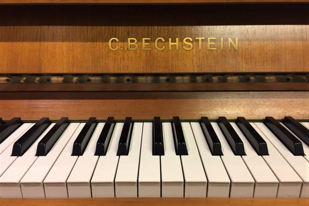 C.-Bechstein-Klaviertasten