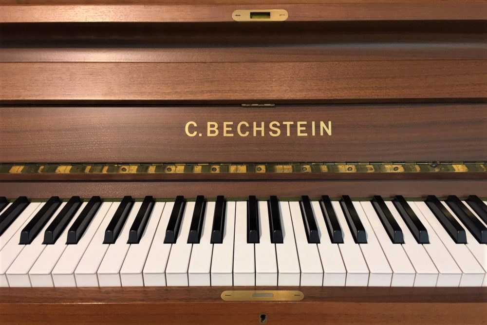 C.Bechstein-Klaviertasten
