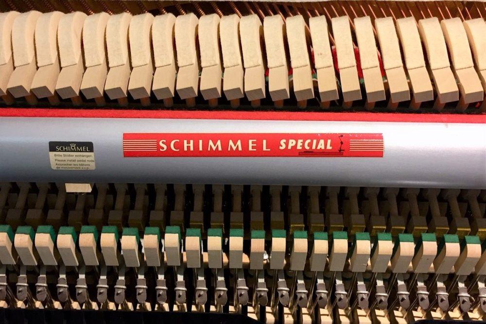 Schimmel-Klavier-Mechanik