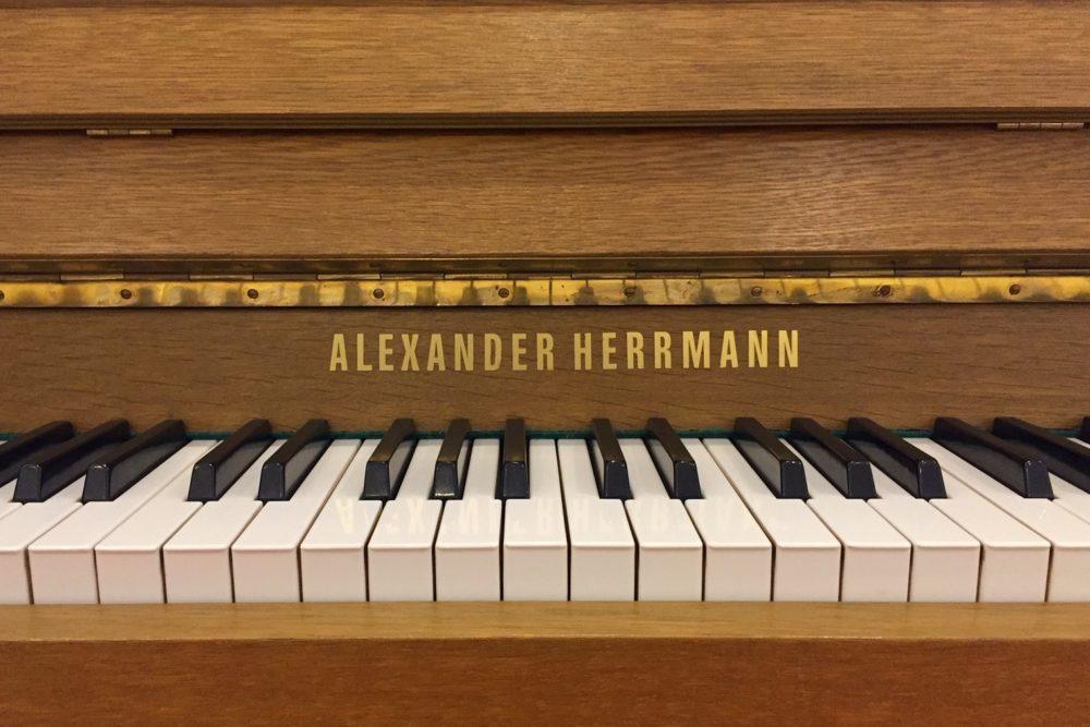 Alexander-Herrmann-Klaviertastatur