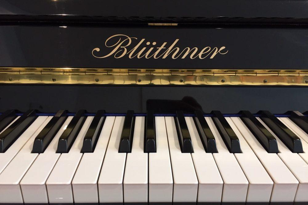 Blüthner-Klaviertastatur