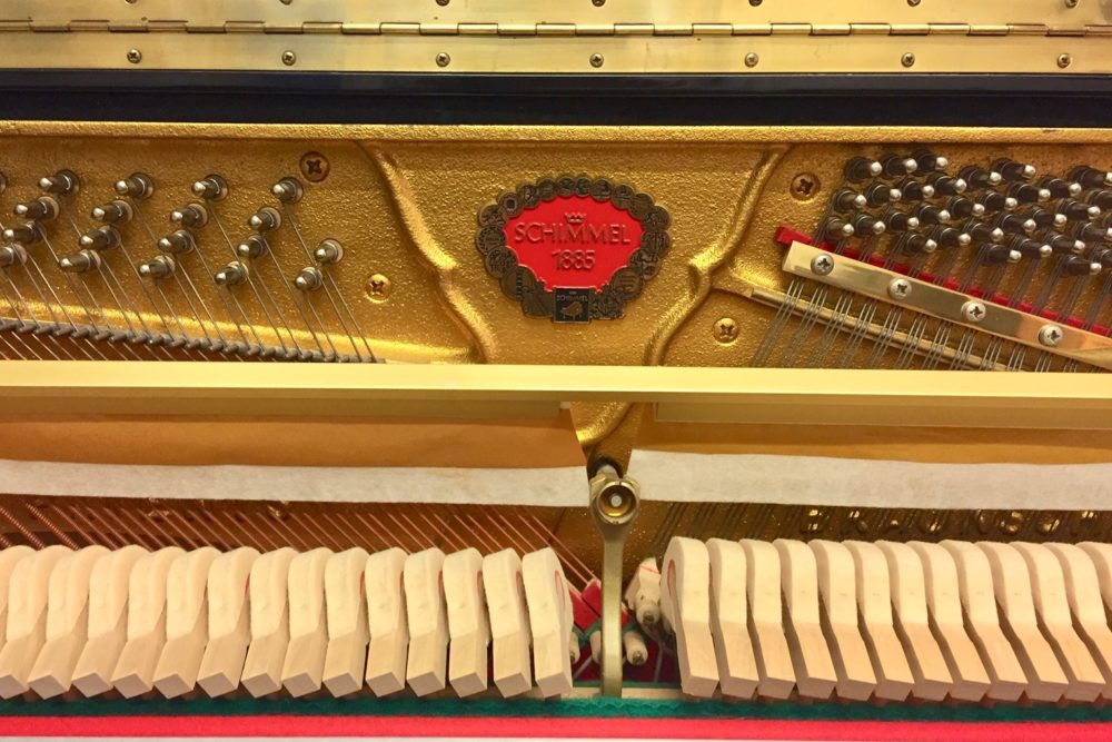 Schimmel-Klaviermechanik