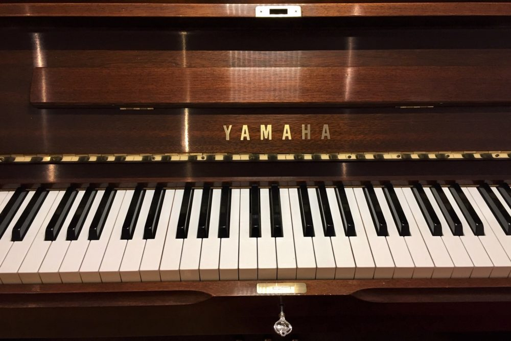 Yamaha-U1-Klaviertastatur