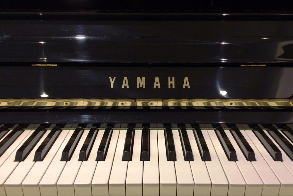 Yamaha-U10-BL-Klaviertastatur