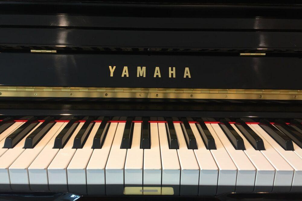 Yamaha-U3-Klaviertasten
