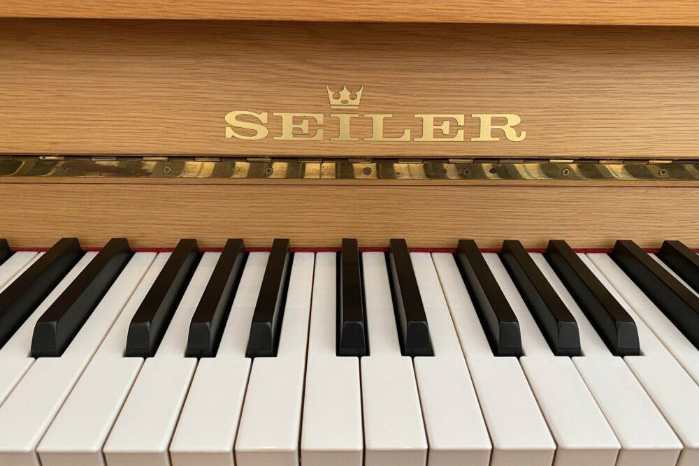 Seiler-Klavier-Tastatur