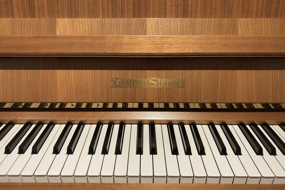 Grotrian-Steinweg-Klaviertastatur
