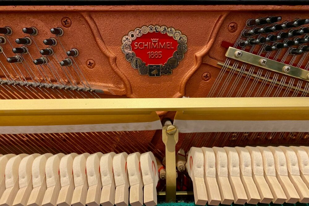 Schimmel-Klavier-Hammerkoepfe