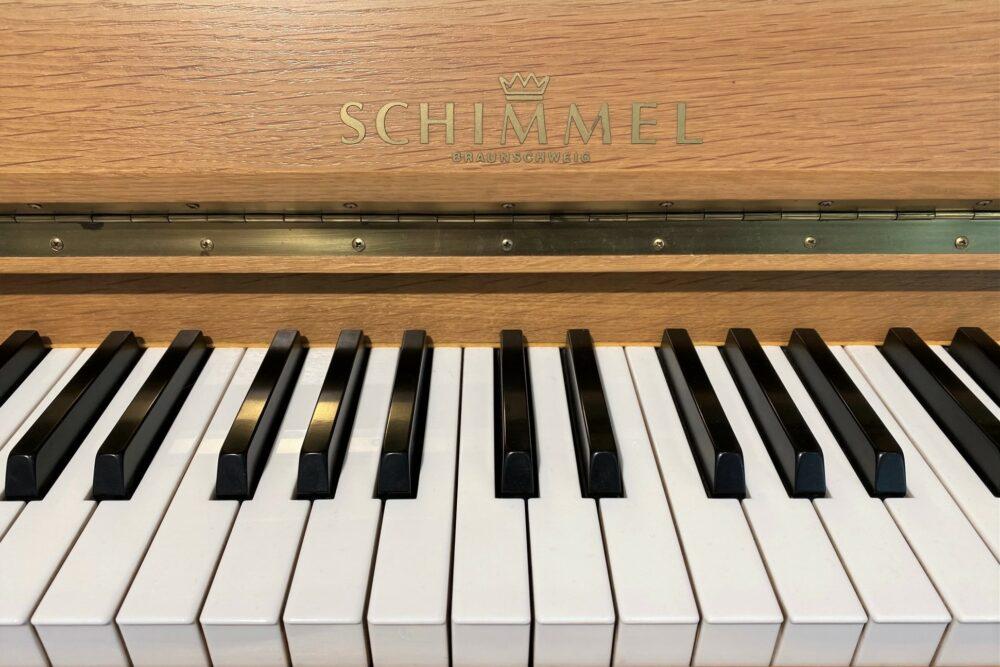 Schimmel-Klaviertasten
