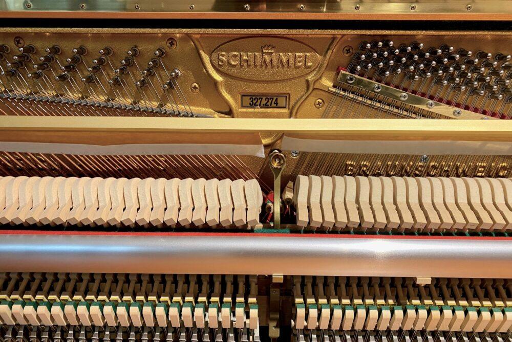 Schimnmel-Klavier-Mechanik